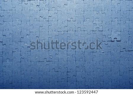 jigsaw puzzle - stock photo