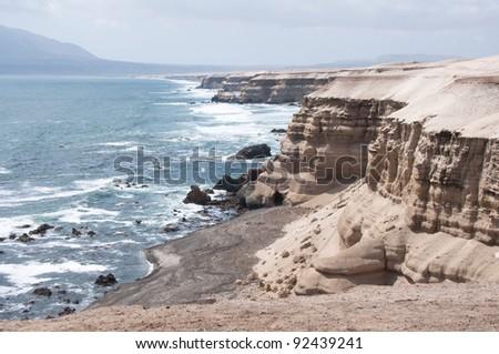 """La Portada"" Natural Monument at Antofagasta, Chile - stock photo"