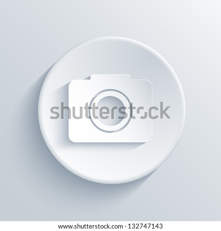 light circle icon. - stock photo