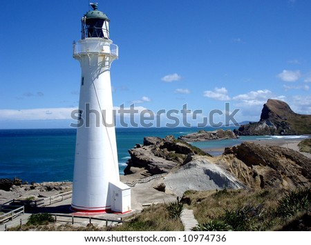 Lighthouse - stock photo