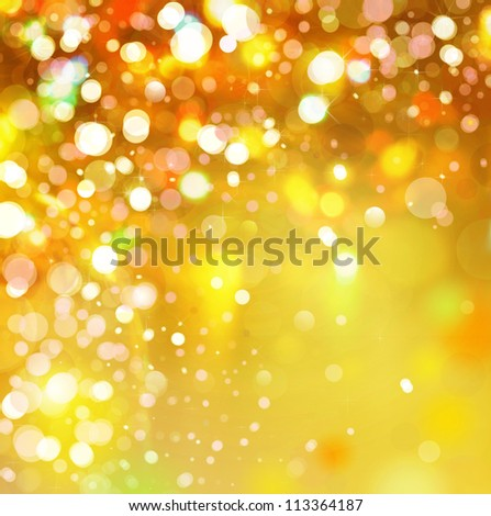 Lights  background. - stock photo