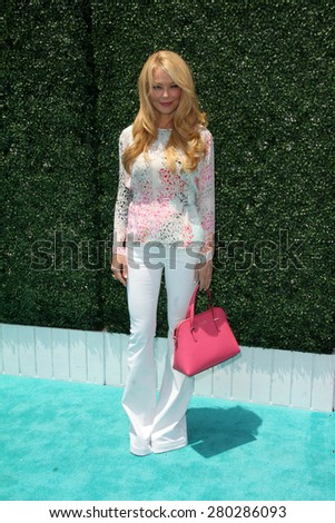 0LOS ANGELES - MAY 16:  Charlotte Ross at the Super Saturday LA at the Barker Hanger on May 16, 2015 in Santa Monica, CA - stock photo