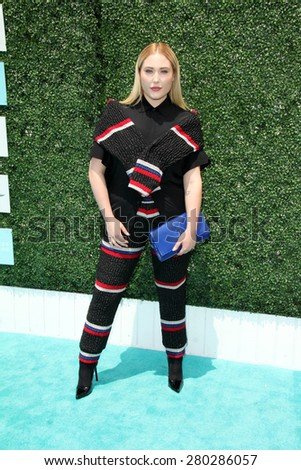 0LOS ANGELES - MAY 16:  Hayley Hasselhoff at the Super Saturday LA at the Barker Hanger on May 16, 2015 in Santa Monica, CA - stock photo