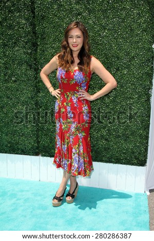0LOS ANGELES - MAY 16:  Lindsay Price at the Super Saturday LA at the Barker Hanger on May 16, 2015 in Santa Monica, CA - stock photo