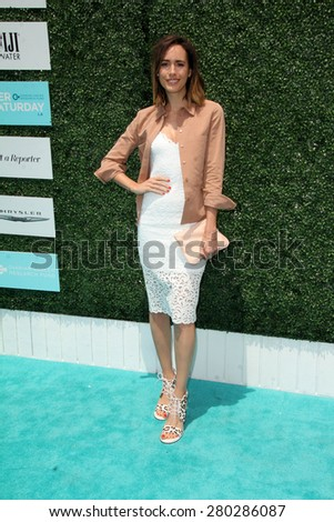 0LOS ANGELES - MAY 16:  Louise Roe at the Super Saturday LA at the Barker Hanger on May 16, 2015 in Santa Monica, CA - stock photo