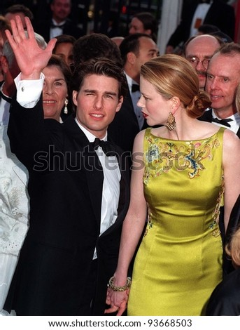 24MAR97:  TOM CRUISE & NICOLE KIDMAN at the Academy Awards. Pix: PAUL SMITH - stock photo