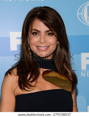 11 May 2015 - New York, New York- Paula Abdul. FOX 2015 Upfront Party at Wollman Rink.  - stock photo