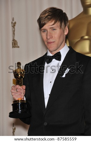 """""""Milk"""" screenplay writer Dustin Lance Black at the 81st Academy Awards at the Kodak Theatre, Hollywood. February 22, 2009  Los Angeles, CA Picture: Paul Smith / Featureflash - stock photo"""