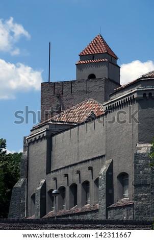 Museum on Belgrade fortress Kalemegdan - stock photo