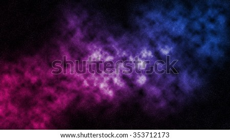 Nebula abstract background - stock photo