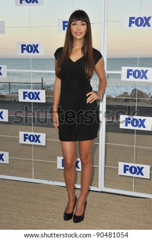 """New Girl"" star Hannah Simone at the Fox TV Summer 2011 All-Star Party at Gladstones Restaurant, Malibu. August 5, 2011  Malibu, CA Picture: Paul Smith / Featureflash - stock photo"