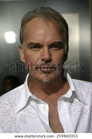 6 October 2004 - Hollywood, California - Billy Bob Thornton. The world premiere of 'Friday Night Lights' at Grauman's Chinese Theater in Hollywood.  - stock photo