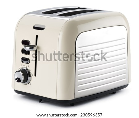 Old Fashioned Toaster - stock photo