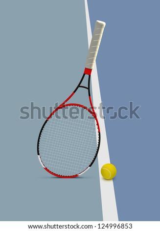 One of four Grand Slam tennis tournaments. - stock photo