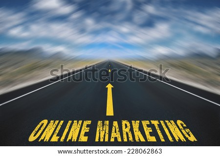 Online Marketing  - stock photo