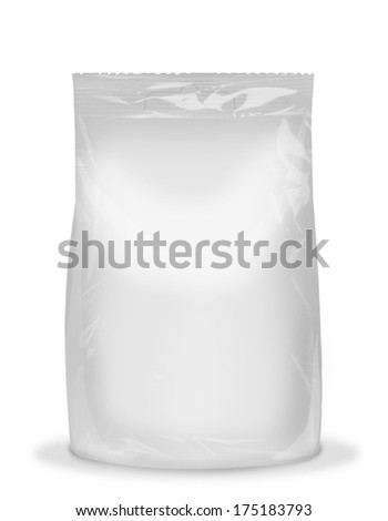 package image for design of packing - stock photo