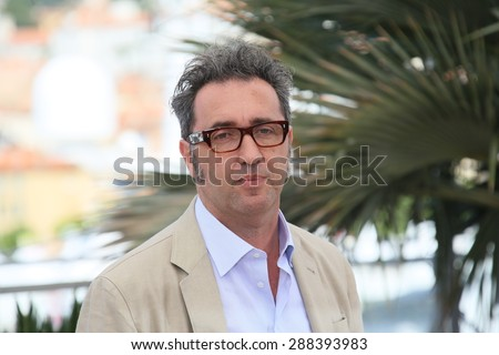 Paolo Sorrentino attends the 'Youth' Photocall during the 68th annual Cannes Film Festival on May 20, 2015 in Cannes, France. - stock photo