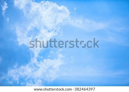 pattern on the sky. - stock photo