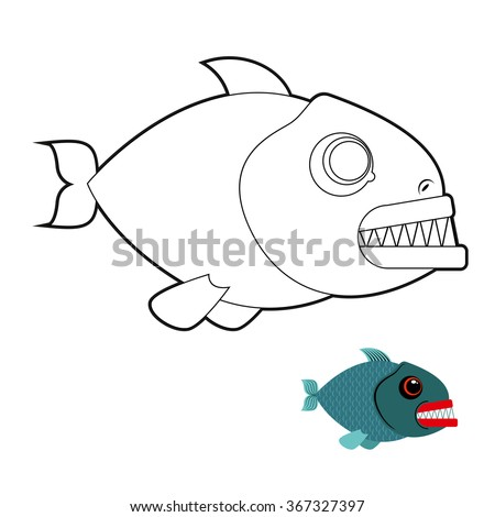 Stock images similar to id 35766388 vector illustration for Colorful fish book