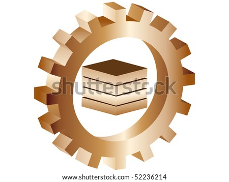 (raster image of vector) product icon - stock photo