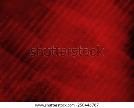 red background with black angled stripes in diagonal pattern and faint texture, old worn vintage background illustration - stock photo
