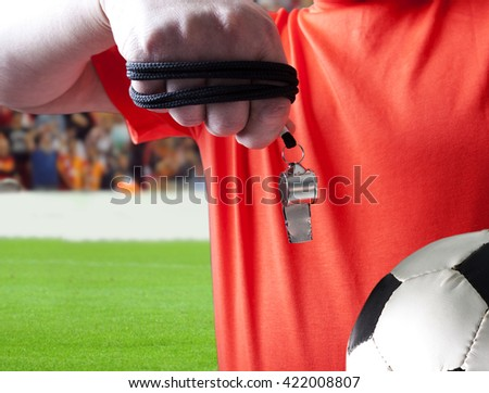 referee - stock photo