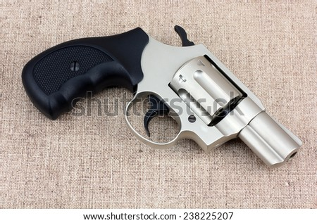Revolver Pistol - stock photo