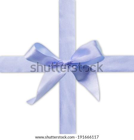 ribbon and bow  - stock photo