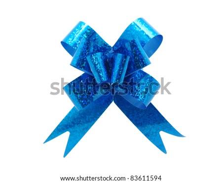 ribbon on the white - stock photo
