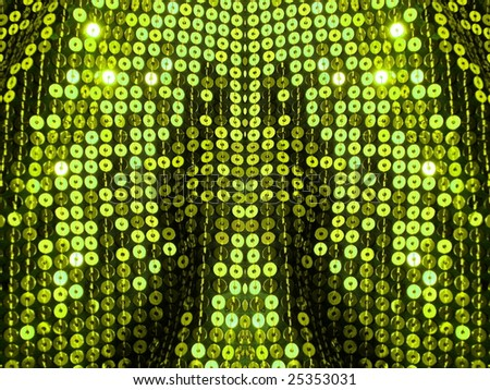 80s style sequined background. More of this motif in my port. - stock photo