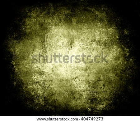Scratched Vintage Grunge Background With Faded Central Area For Your Text Or Picture - stock photo