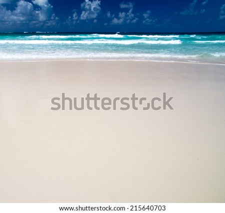 sea beach - stock photo