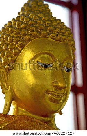 siddharta  in the temple bangkok asia   thailand abstract cross        step    wat   palaces    - stock photo