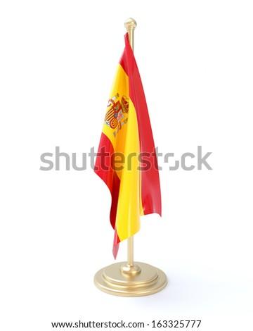 Spanish Flag - stock photo