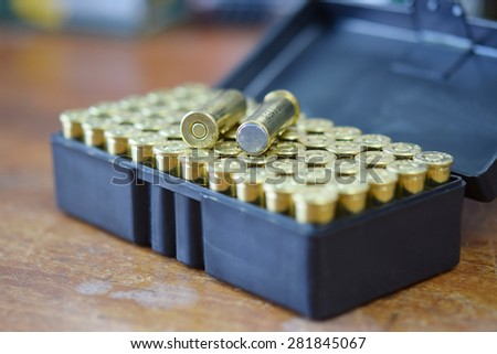 .38 special wadcutter - stock photo
