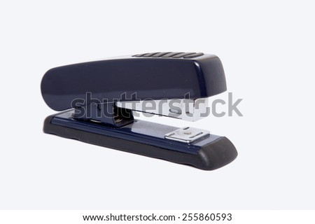 stapler paper - stock photo