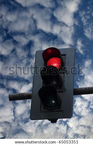 Stoplight. - stock photo