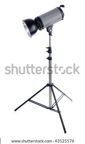 Studioflash - stock photo