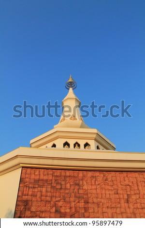 stupa - stock photo