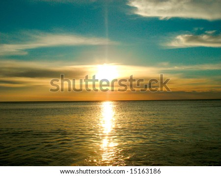 Sunrise - Sunset - stock photo