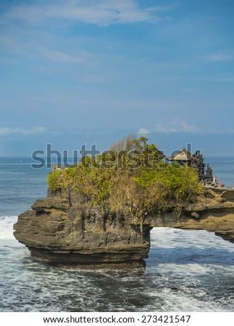 Tanah Lot temple, Bali. Indonesia - stock photo