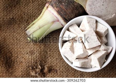 Taro  - stock photo