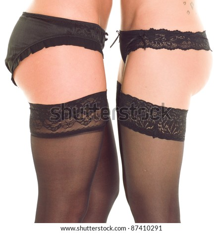 2 Tempting - stock photo