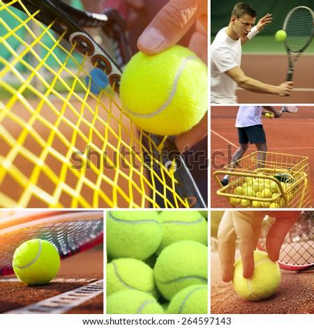 Tennis concept - stock photo