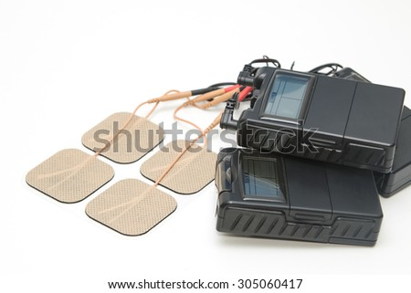 Tens Unit ,Medical equipment for Physical therapy - stock photo
