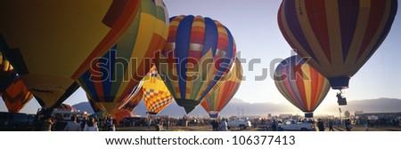 25th Albuquerque International Balloon Fiesta, New Mexico - stock photo
