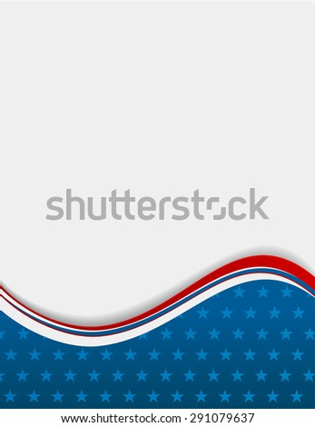 4th july - independence day background  - stock photo
