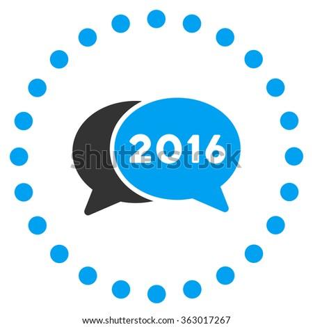 2016 Webinar Icon - stock photo