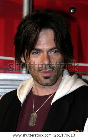 """03/07/2005 - West Hollywood - Billy Burke at the """"Ladder 49"""" DVD Release Party at the House of Blues. - stock photo"""