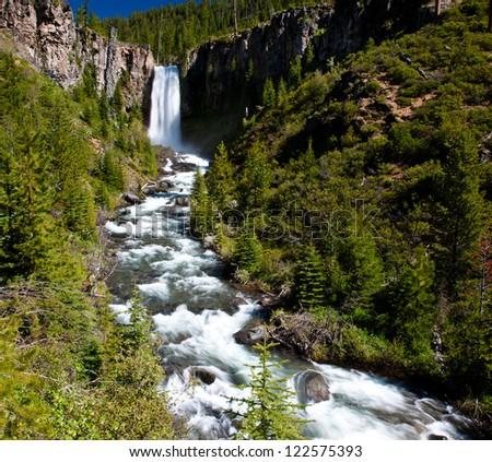 Western Waterfalls 13 - stock photo